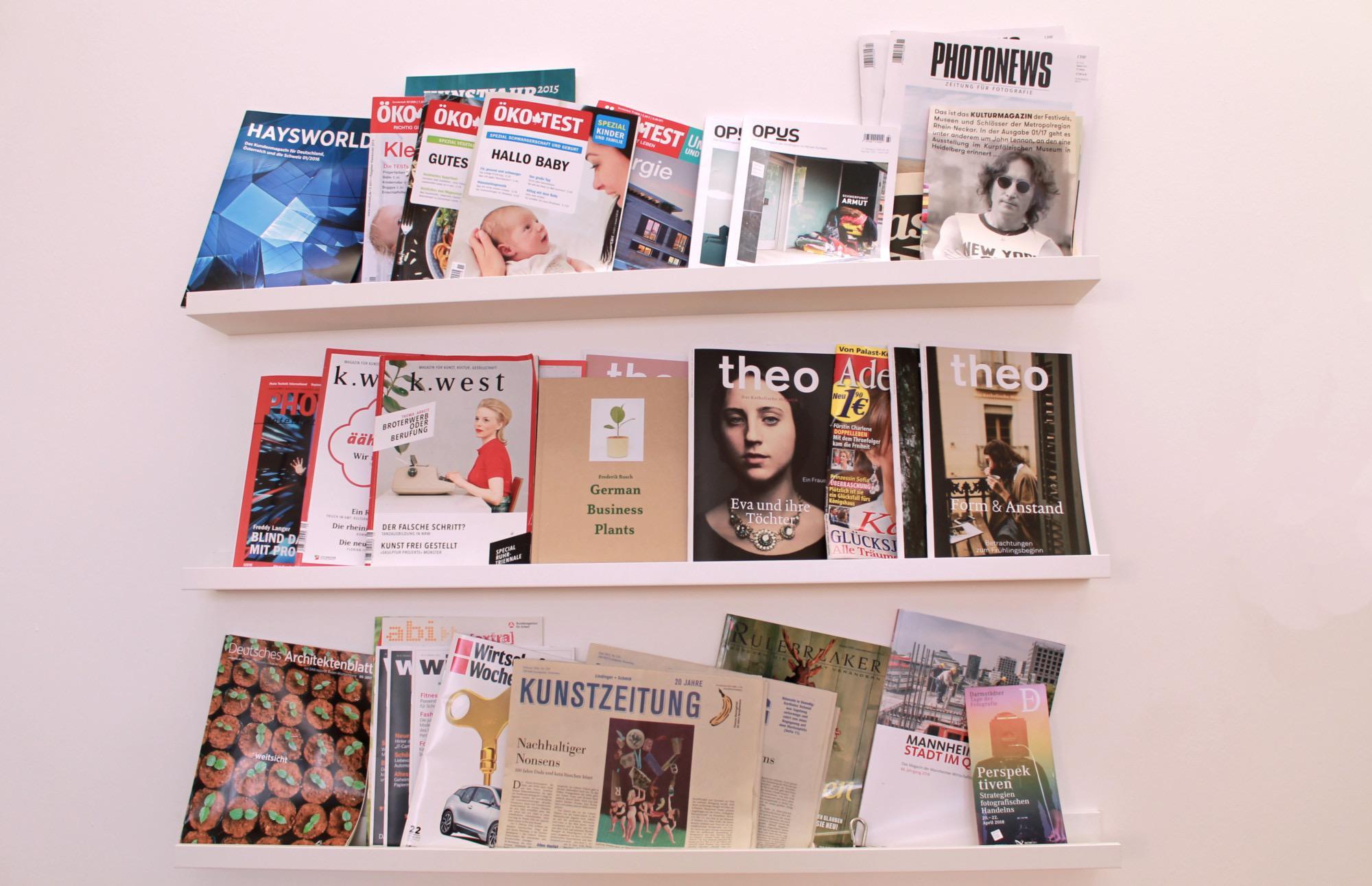 Breit aufgestellt in der Selbstständigkeit: Ein Teil der Projekte der Journalistinnen.