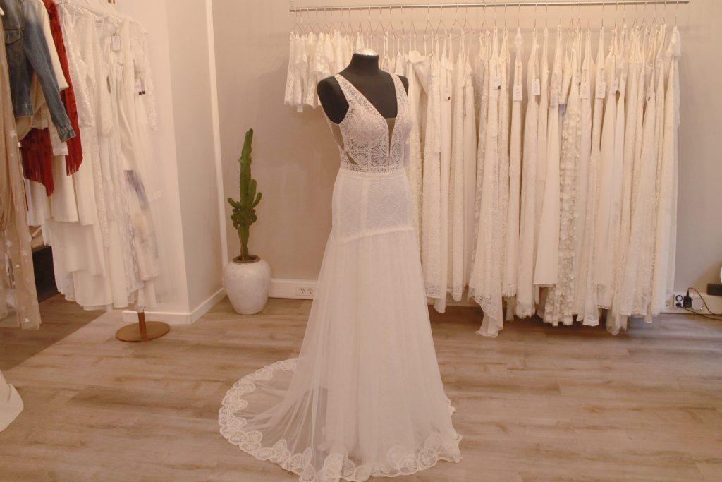 Boho-Brautkleid aus der kiligdress Kollektion