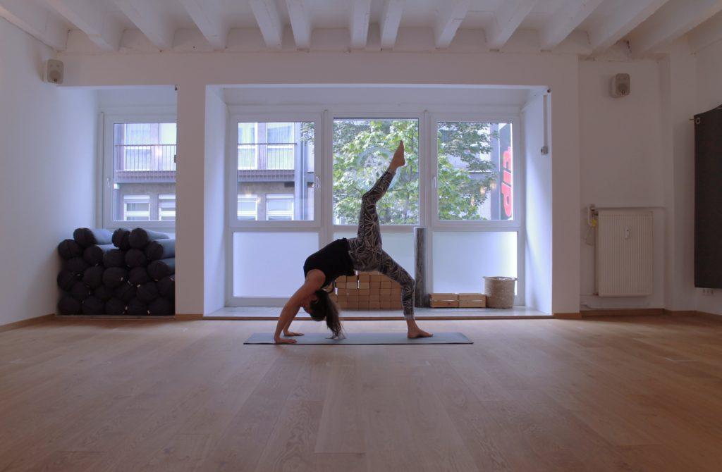 Katharina Mehring von Yoga Affairs beim Yoga